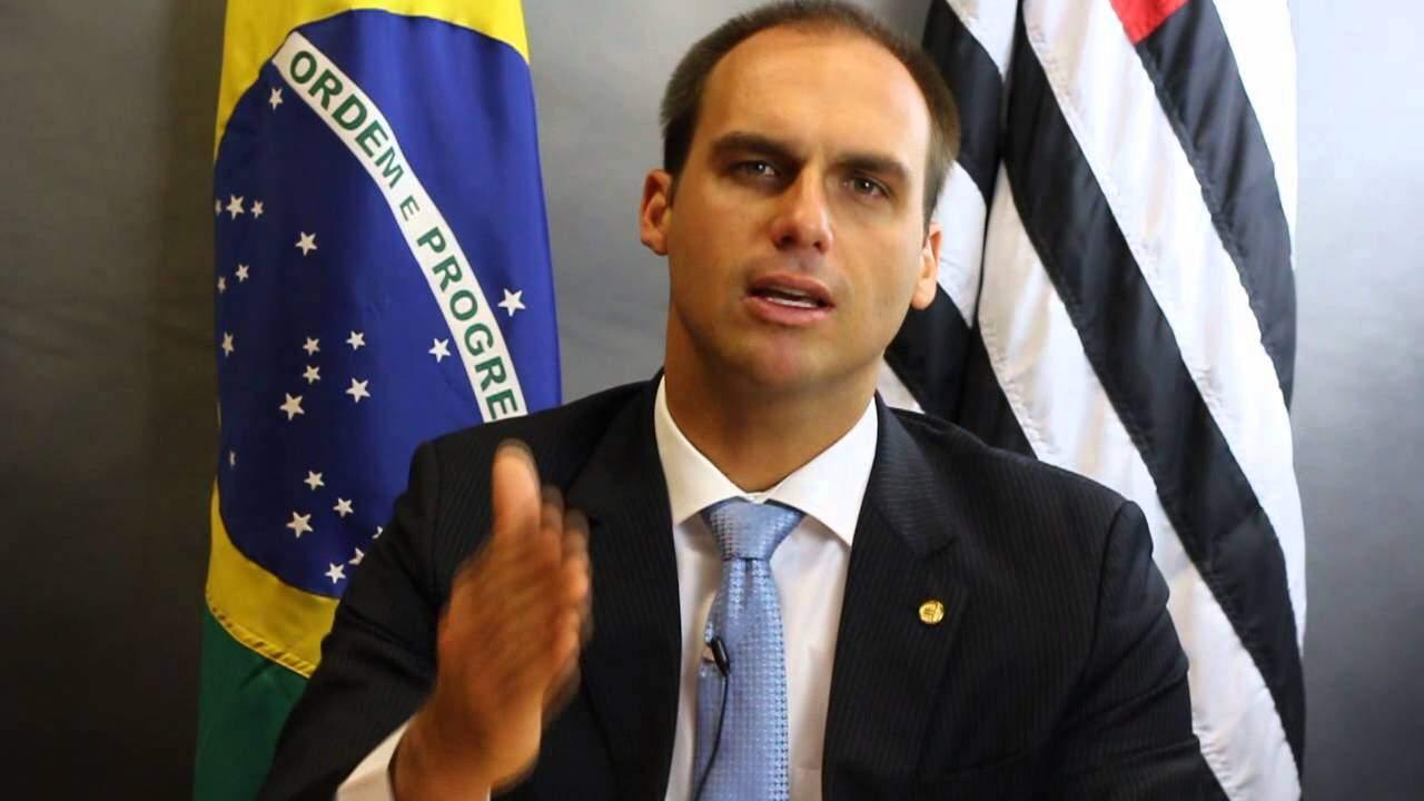 Eduardo Bolsonaro / Imagem : Reprodução