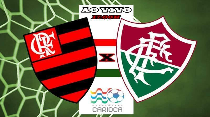 Fla-flu ao vivo hoje, jogo Flamengo x Fluminense. Foto/Montagem