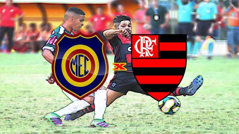 Flamengo e Madureira hoje pelo Campeonato Carioca. Foto/Reprodução