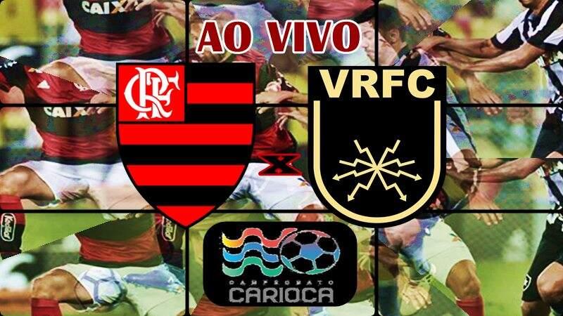 Onde assistir o jogo do Flamengo x Volta Redonda ao vivo. Foto/Montagem