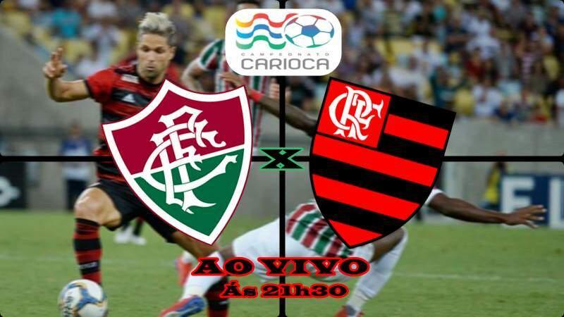 Onde assistir Fluminense x Flamengo ao vivo nesta quarta (27). Foto/Montagem
