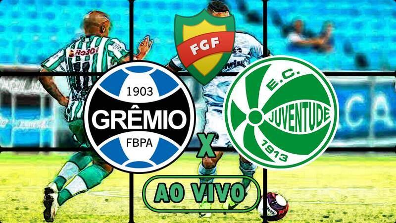 Veja onde assistir o jogo Grêmio x Juventude ao vivo. Foto/Montagem