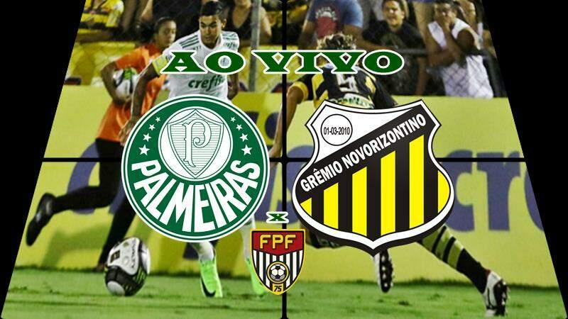 Assistir Palmeiras x Novorizontino ao vivo online nesta quarta. Foto/Montagem