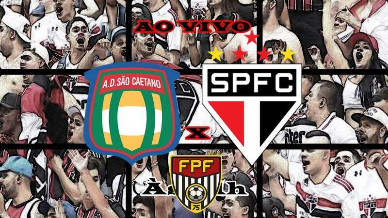 Onde assistir São Caetano x São Paulo AO VIVO. Foto/Montagem