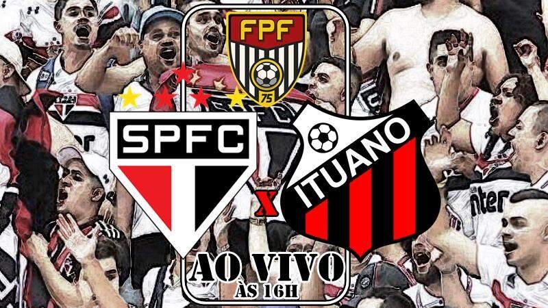Onde assistir o jogo São Paulo x Ituano ao vivo. Foto/Montagem