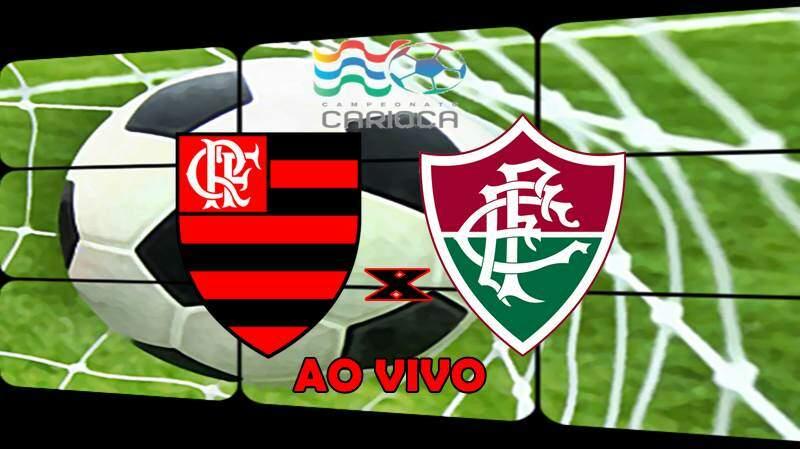 Onde assistir Flamengo e Fluminense ao vivo hoje. foto/Montagem