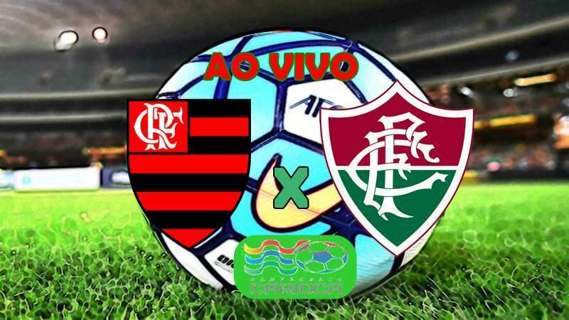 Onde assistir o Jogo do Flamengo x Fluminense ao vivo neste sábado. Foto/Montagem