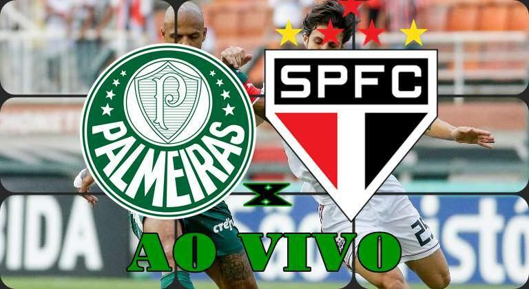 Onde assistir o Jogo do Palmeiras x São Paulo ao vivo hoje. Foto/Montagem
