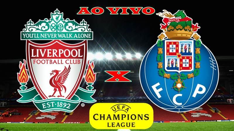 Onde assistir Liverpool vs Porto ao vivo. Foto/Montagem