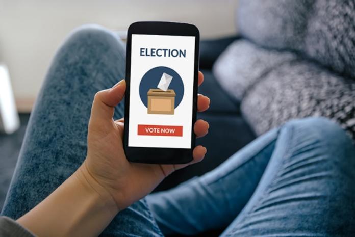Votar online/ Reprodução Funiber Blogs