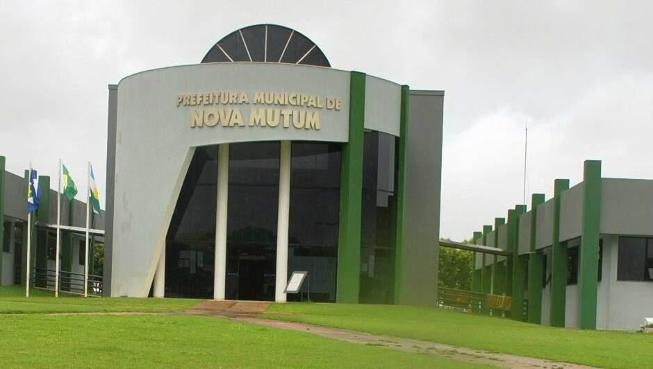 (Prefeitura Nova Mutum/Foto: Ederaldo Junior)