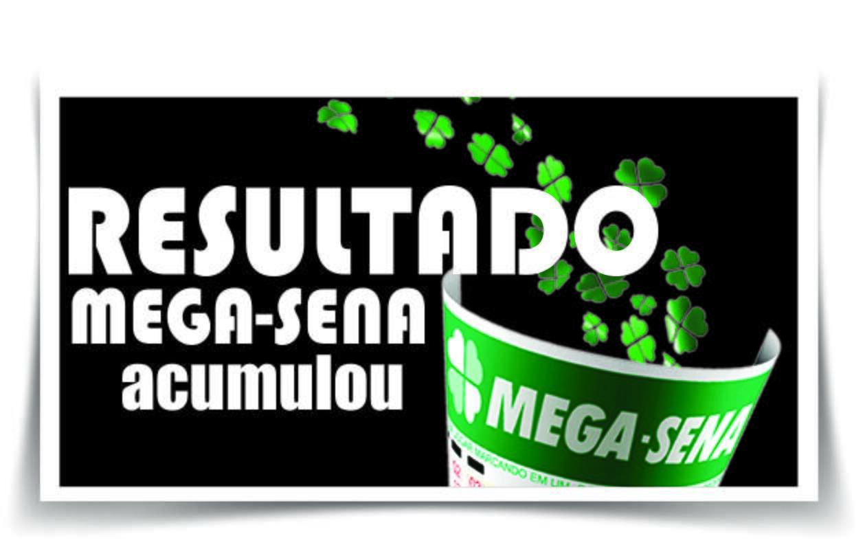 Resultado da Mega-Sena acumulada/ Imagem montagem Weslei