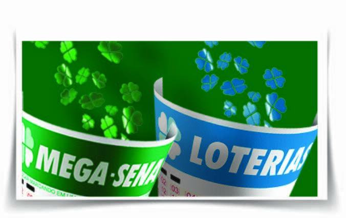 Mega-Sena e Loteria Federal / Montagem : Ueslei Mendes de Souza