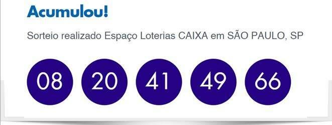 Resultado da Quina 4719/ Imagem de montagem Diário Prime-Loterias Caixa