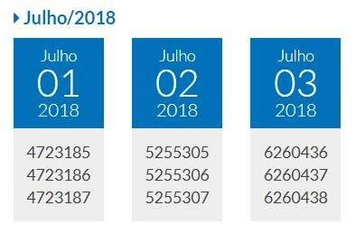 Confira o Prêmio Todo Dia, 01,02,03 de julho