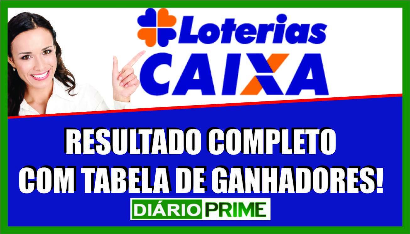 Loterias Caixa - Resultado da Dupla-Sena - Resultado da Dia de Sorte