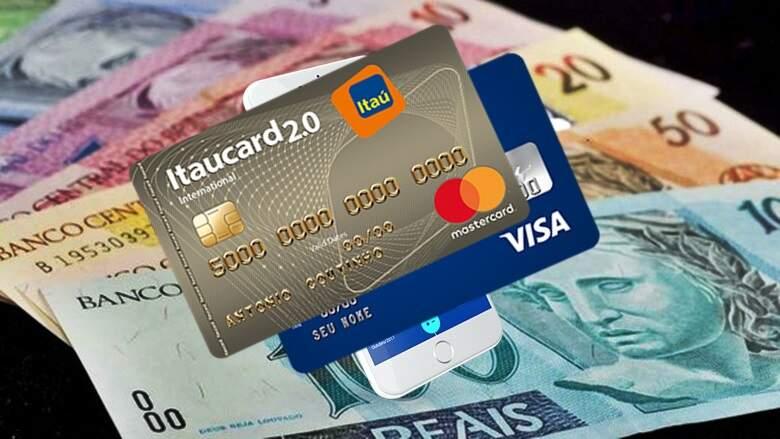 Como almentar limite de seu cartão de crédito - Cartão internacional Visa sem anuidade - Foto Ilustrativa - Reprodução