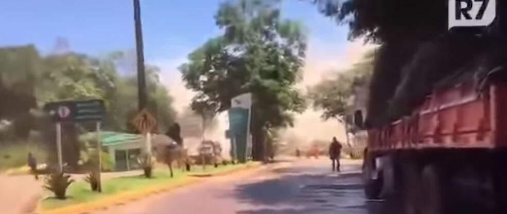 Vídeo do rompimento da Barragem em Brumadinho