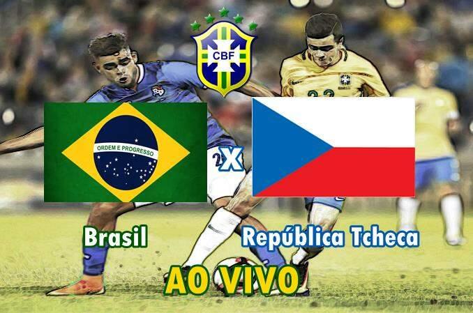 Onde vai passar o jogo da Seleção Brasileira. como assistir pelo celular República Tcheca x Brasil ao vivo online. Foto/Montagem
