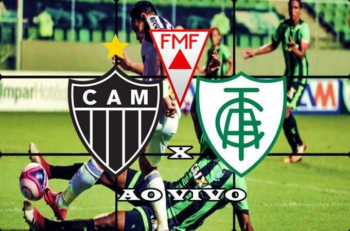 Onde assistir Atlético Mineiro x América-MG ao vivo online. Foto/Montagem