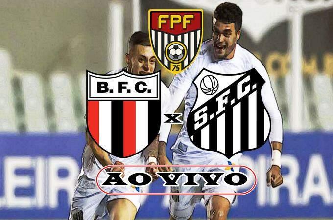 Jogo do Botafogo de Ribeirão Preto x Santos AO VIVO online. Foto/Montagem