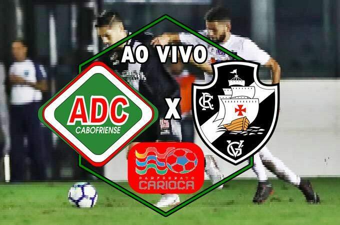Jogo do Vasco ao vivo: Cabofriense x Vasco ao vivo online. Foto/Mntagem