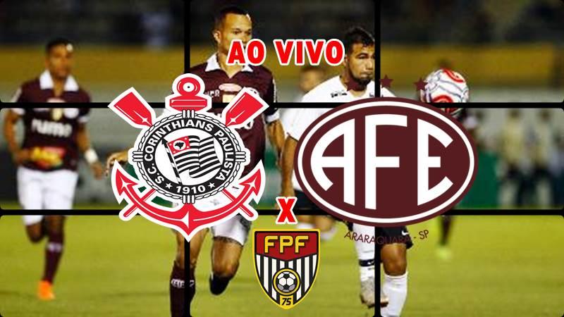 Veja onde assistir Corinthians x Ferroviária ao vivo. Foto/Montagem