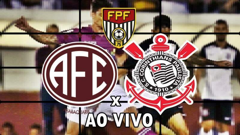 Ferroviária e Corinthians AO VIVO. Foto/Reprodução