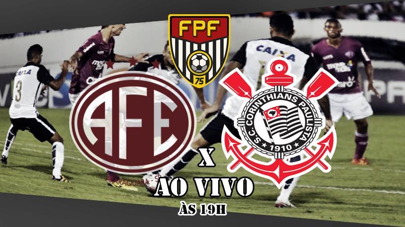 Onde assistir Ferroviária x Corinthians ao vivo. Foto/Montagem