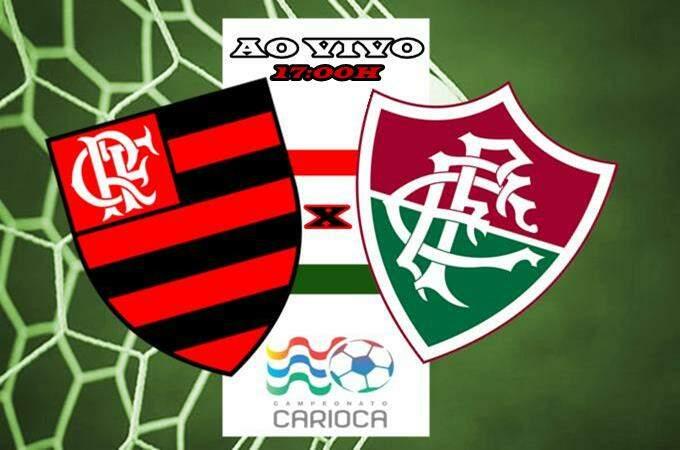 Fla-flu ao vivo hoje. Jogo Flamengo x Fluminense online. Foto/Montagem