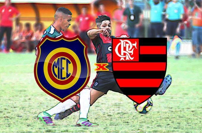 Flamengo e Madureira ao vivo hoje pelo Campeonato Carioca. Foto/Montagem