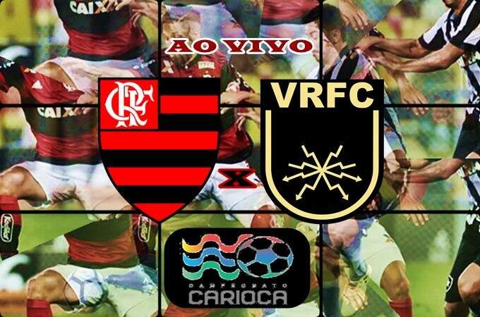 Assistir Flamengo x Volta Redonda ao vivo online. Veja onde ver o jogo da Taça Rio. Foto/Montagem.