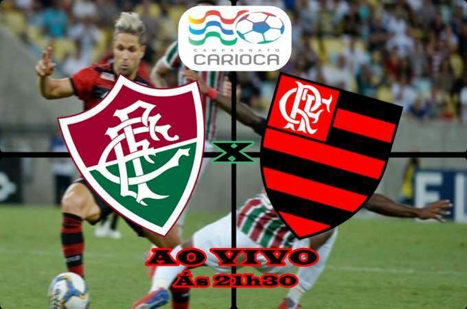 Onde assistir Fluminense x Flamengo ao vivo online nesta quarta (27). Foto/Montagem