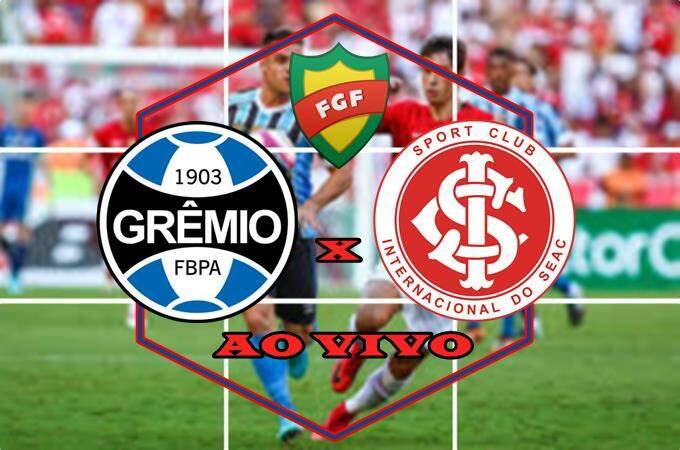 Onde assistir o jogo Grêmio x Internacional AO VIVO online. Foto/Montagem