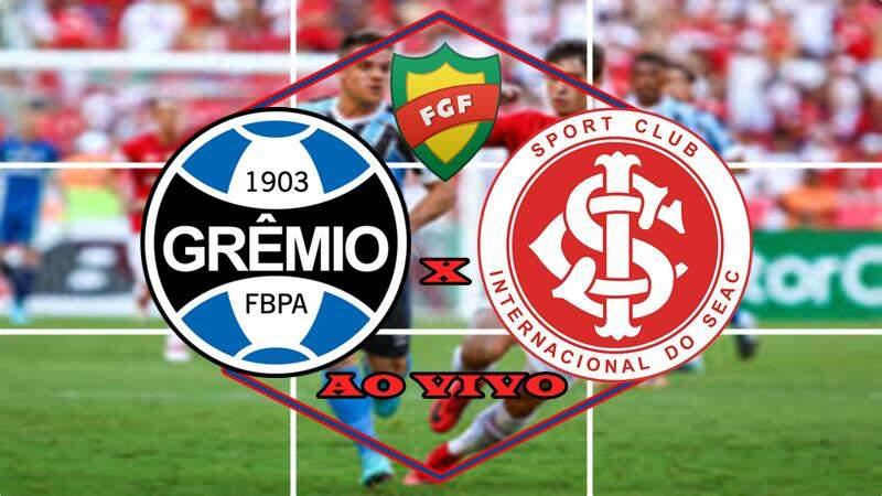 Grêmio x Internacional AO VIVO. Foto/Montagem