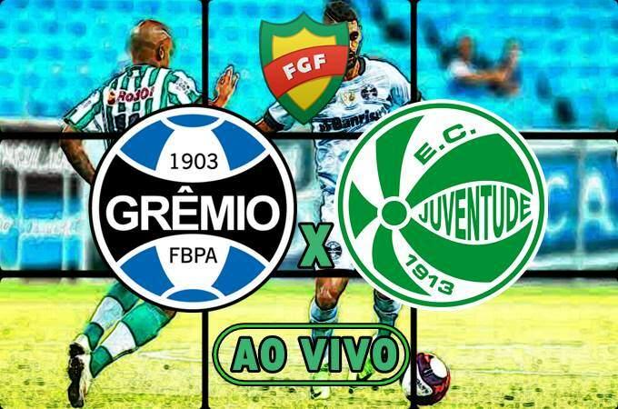 Veja onde assistir o jogo Grêmio x Juventude ao vivo online. Foto/Montagem