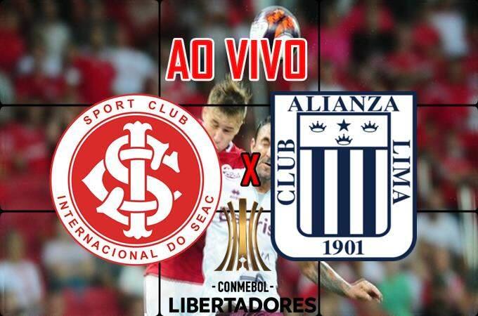 Internacional x Alianza Lima ao vivo online. Foto/Montagem