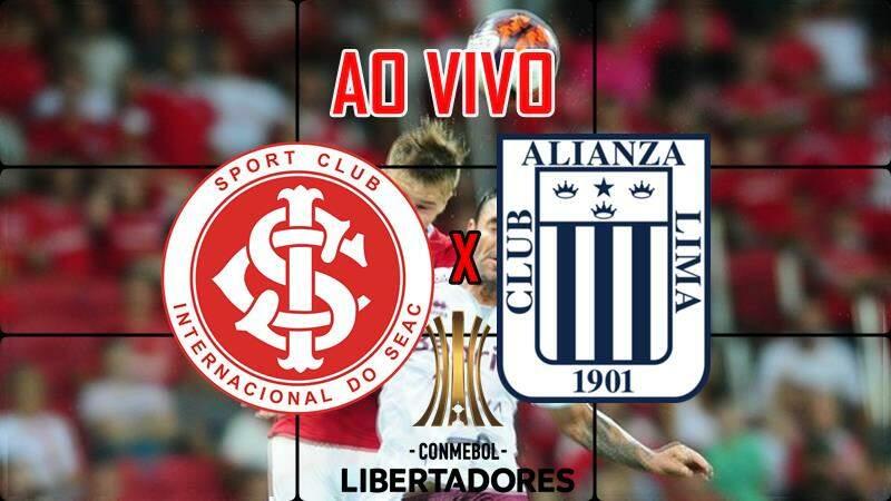 Internacional x Alianza Lima ao vivo. Foto/Montagem