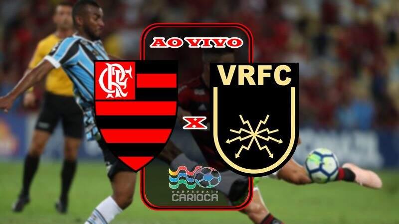 Veja onde vai passasr o Jogo do Flamengo e Volta Redonda ao vivo. foto/Montagem