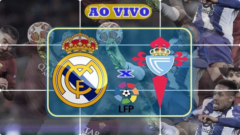 Jogo do Real Madrid vs Celta de Vigo ao vivo, onde assistir online. Foto/Montagem
