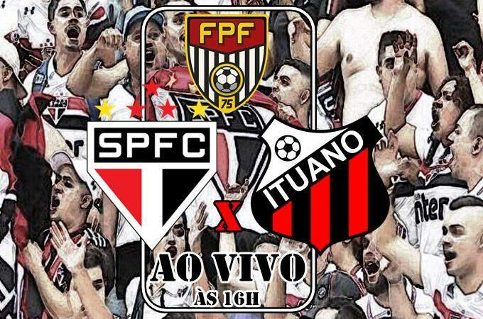 Onde vai passar o jogo São Paulo x Ituano ao vivo online. Foto/Montagem