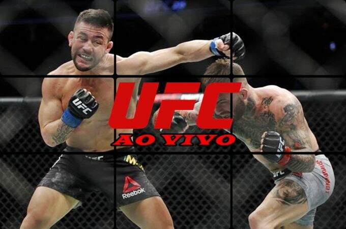 Como assistir UFC ao vivo Fight Night 147 online. Foto/Montagem