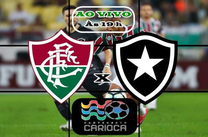 Onde vai passar o jogo Fluminense e Botafogo ao vivo online. Foto/Montagem