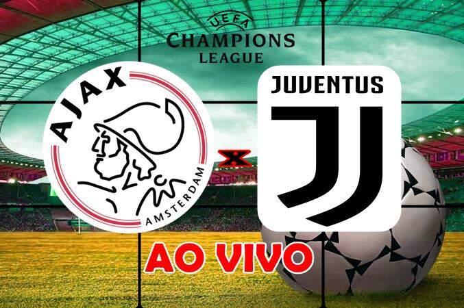 Onde assistir o jogo do Ajax x Juventus ao vivo online. Foto/Montagem
