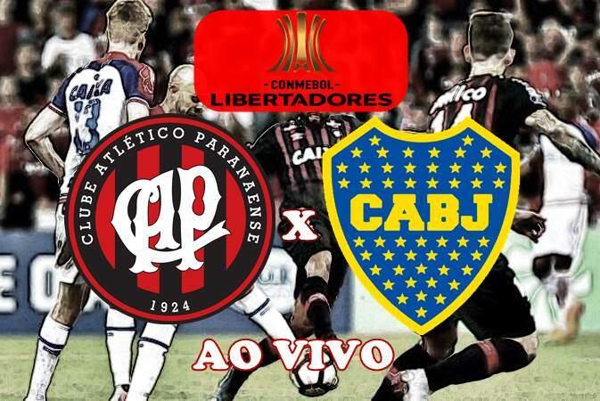 Onde assistir Athletico PR x Boca Juniors ao vivo online. Foto/Montagem