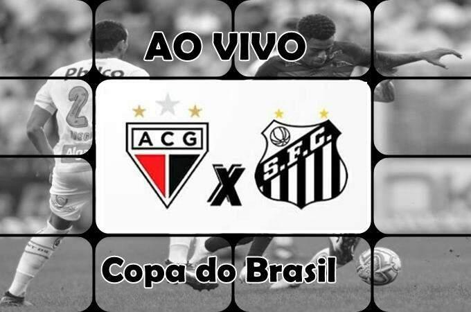 Assistir Atlético-GO x Santos ao vivo online. Foto/Montagem