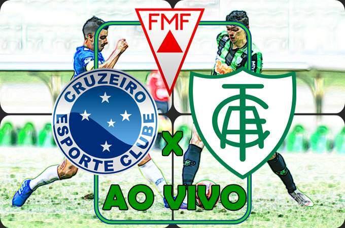 Onde vai passar o jogo Cruzeiro x América MG ao vivo online neste sábado. Foto/Montagem
