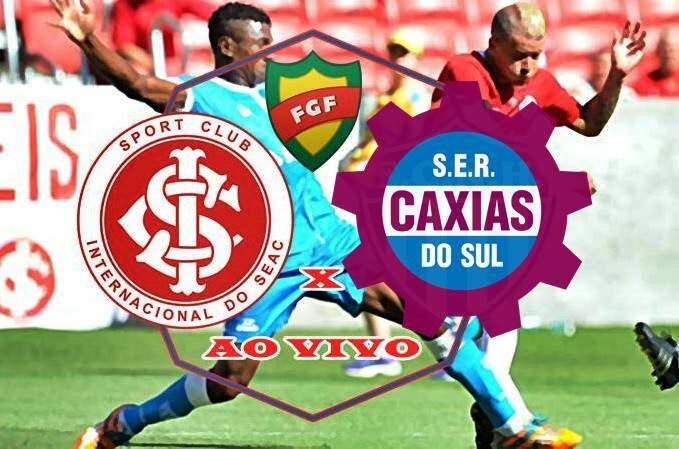 Jogo do Inter ao vivo: Internacional e Caxias ao vivo online. Foto/Montagem