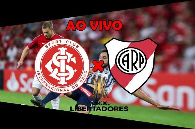 Onde assistir o jogo Internacional x River Plate ao vivo online. Foto/Montagem