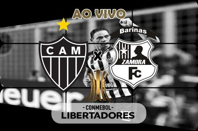 Assistir o Jogo Atlético Mineiro x Zamora ao vivo online. Foto/Montagem